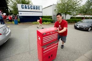 June 4: Walking off the job at Cascade Aerospace
